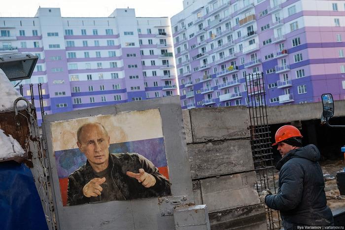 Пожалуй, самый плохой новострой в России Гетто, Новосибирск, Район, Новостройка, Варламов, Видео, Длиннопост