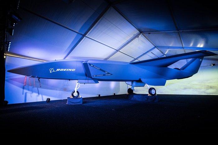Boeing представил прототип беспилотного истребителя с искусственным интеллектом Истребитель, Боинг, Самолет, Техника, Искусственный интеллект, Скайнет, Видео, Длиннопост