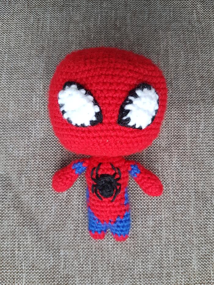 Человек-паук Вязание, Вязание крючком, Амигуруми, Marvel, Человек-Паук