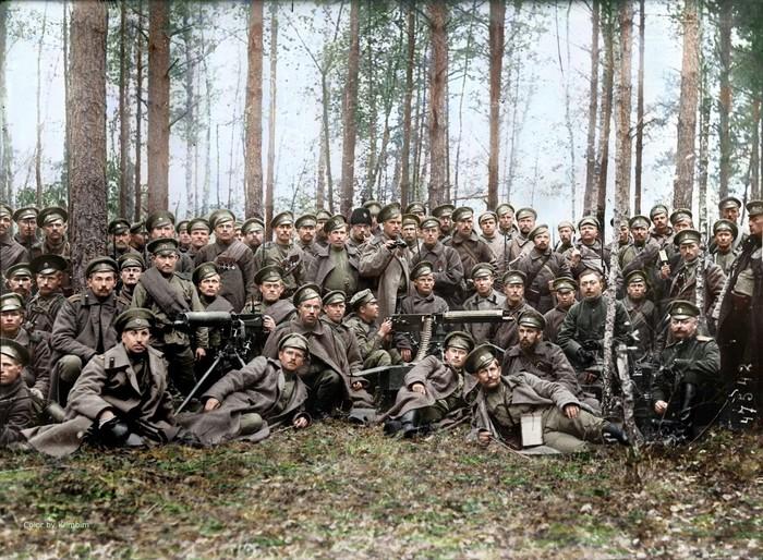 Хочу все знать #124.25 раскрашенных фотографий русских солдат на фронтах Первой мировой войны. Хочу все знать, Первая мировая война, Солдаты, Офицеры, Фотография, История, Ретро, Восстановление, Длиннопост