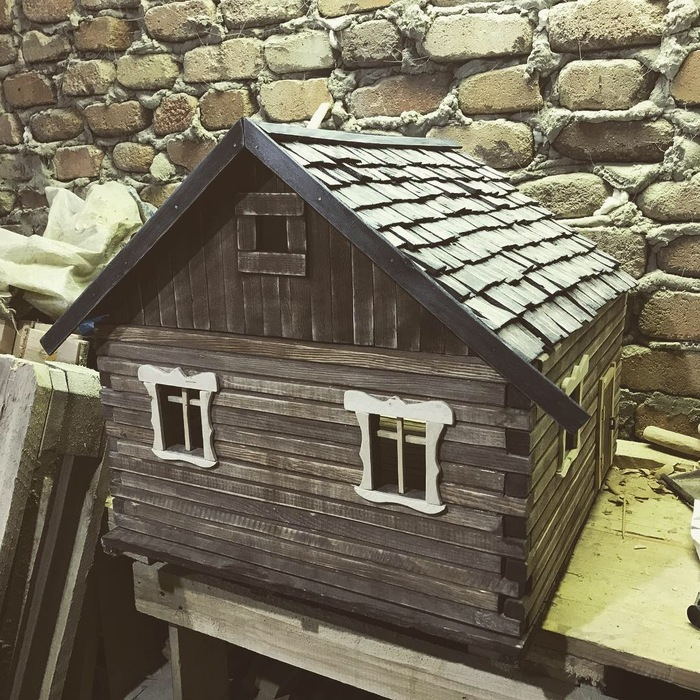 Кукольный домик Ручная работа, Кукольный дом, Изделия из дерева, Миниатюра, Кукольная мебель, Длиннопост