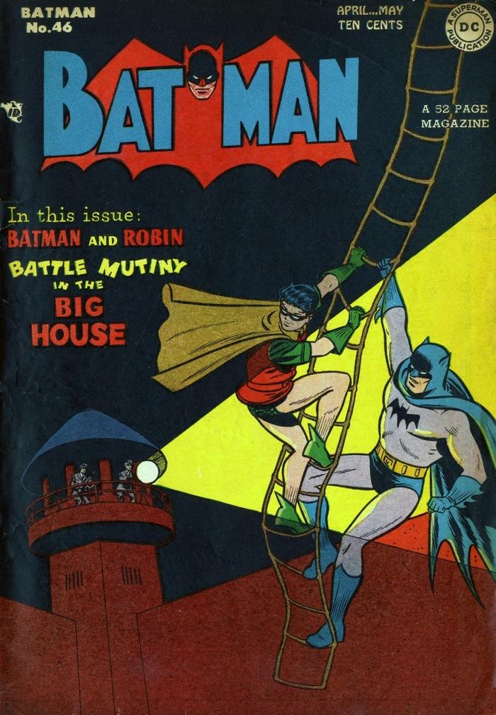 Погружаемся в комиксы: Batman #46-55 Супергерои, DC Comics, Бэтмен, Джокер, Комиксы-Канон, Длиннопост