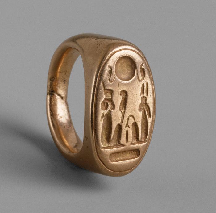 Перстень из Амарны Древний Египет, Археология, История, Египтология, Перстень, Эхнатон, Нефертити