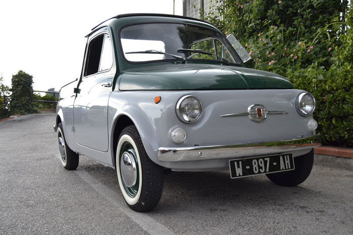 Fiat 500 Ziba Fiat, Пикап, Длиннопост, Fiat 500, Авто