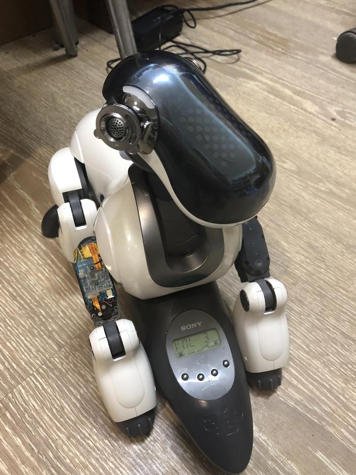 Операция Игрушки, Собака, Длиннопост, Работа, Ремонт техники, Робот, Sony