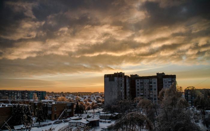 А какой у вас вид из окна? Бобруйск, Беларусь, Фотография, Город, Горизонт, Панелька, Дом, Горячее, Видео, Длиннопост