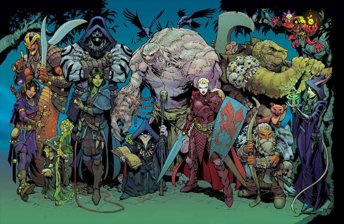 Evil D&D characters Dungeons & Dragons, Фэнтези, Арт, Зло, Магия