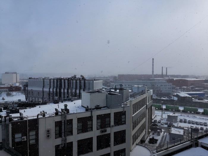 С первым днём в.... Погода, Весна, Санкт-Петербург, Неожиданно