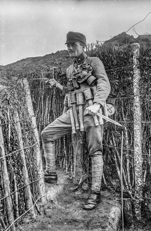 Противник не будет стрелять в тебя во время наступления Первая мировая война, Немецкие войска, Юмор