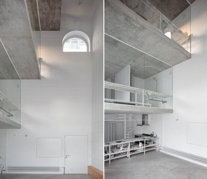 «Машина для жизни» или реконструкция жилого дома в 4-уровневое пространство Португалия, Лиссабон, Архитектура, Жилой дом, Дизайн, Длиннопост