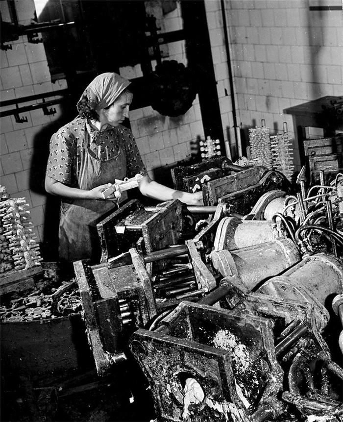 Женский труд, середина ХХ-го века Женский труд, Фотография, 20 век, СССР, Длиннопост