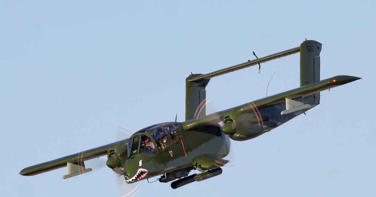 Ov-10D Bronco.Самолет-каратель.