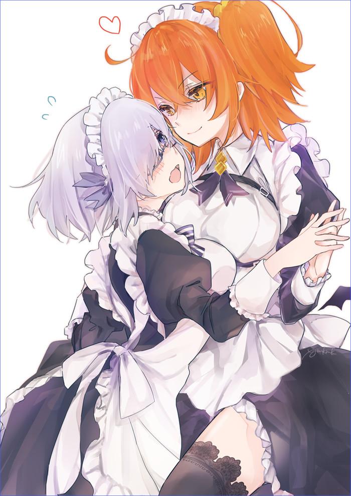 Mashu and Fujimaru