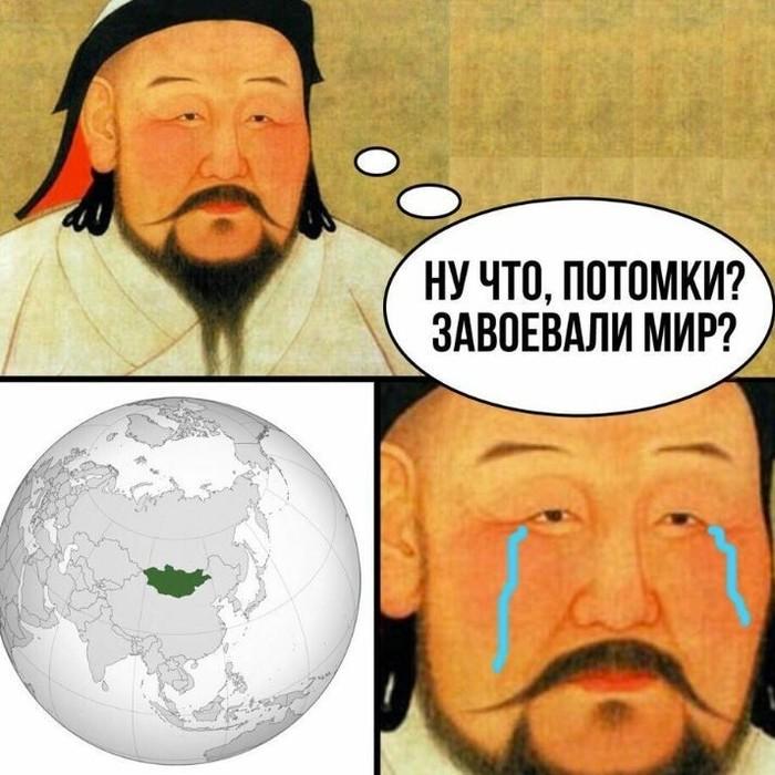 С Алексанром Македонским еще смешнее было бы