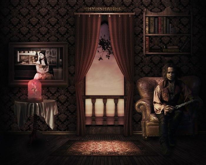 Rumpelstiltskin's room Коллаж, Однажды в сказке, Фан-Арт, Отфотошопьте, Сказка, Красавица и чудовище, Румпельштильцхен