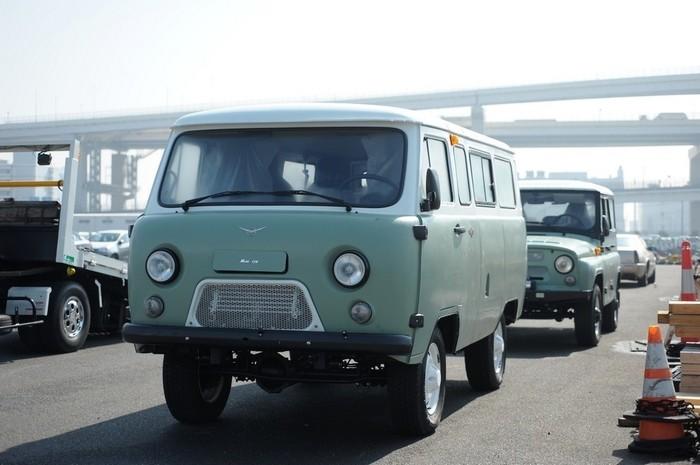 Юбилейные УАЗы в Японии Уаз, Буханка, Япония, Длиннопост