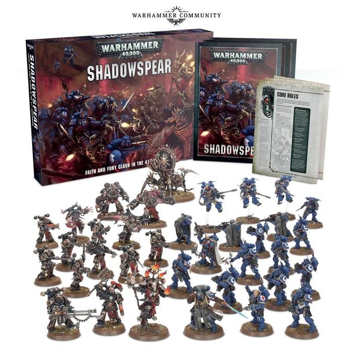 Теневое копье Games Workshop, Warhammer 40k, Primaris Space Marines, Ultramarines, Длиннопост