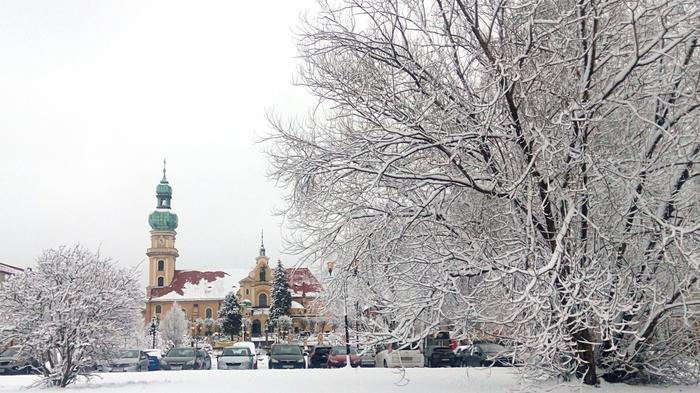 Хороший день в начале года. Польша, Длиннопост, Жизнь за границей, Зима, Фотография, Путешествия, Работа за границей, Жизнь