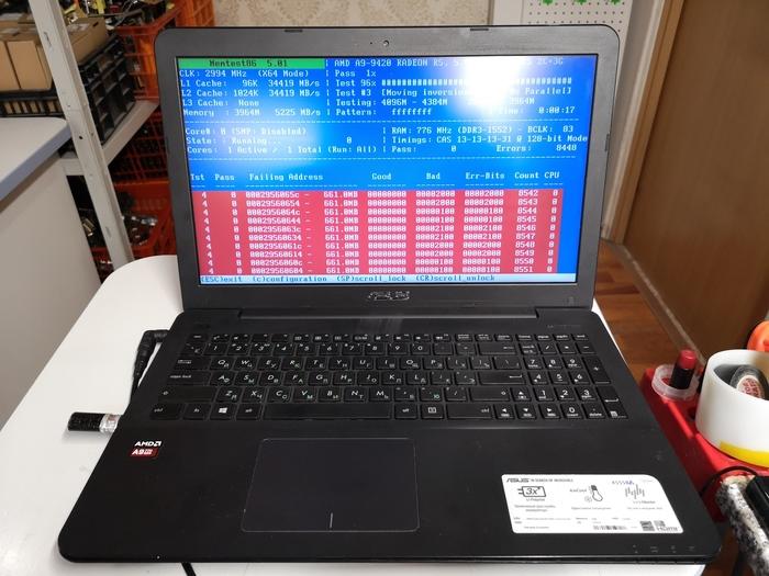 Ремонт техники в Сургуте #7 Ноутбук, Ремонт техники, Сургут, Оперативная память, Длиннопост