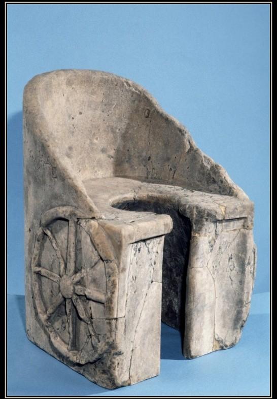 """Трон для """"императора"""" Античность, Унитаз, Туалет, Римская империя, Трон"""