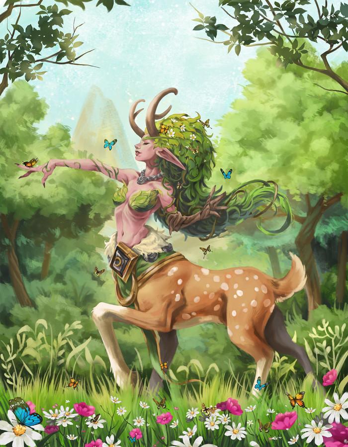 World of Warcraft Lunara By Yuri Seo