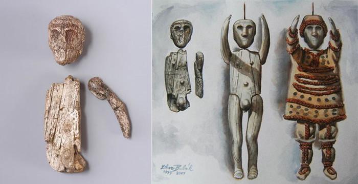 Древние игрушки Игрушки, Древность, Археология, История, Погремушка, Кукла, Длиннопост