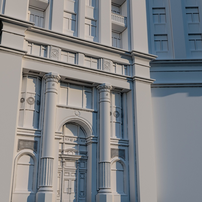 Проект 7 сестер, часть 2 Творчество, Москва, Сталинская высотка, Моделизм, Текстурирование, Проект, 7 сестер, 3ds max, Длиннопост