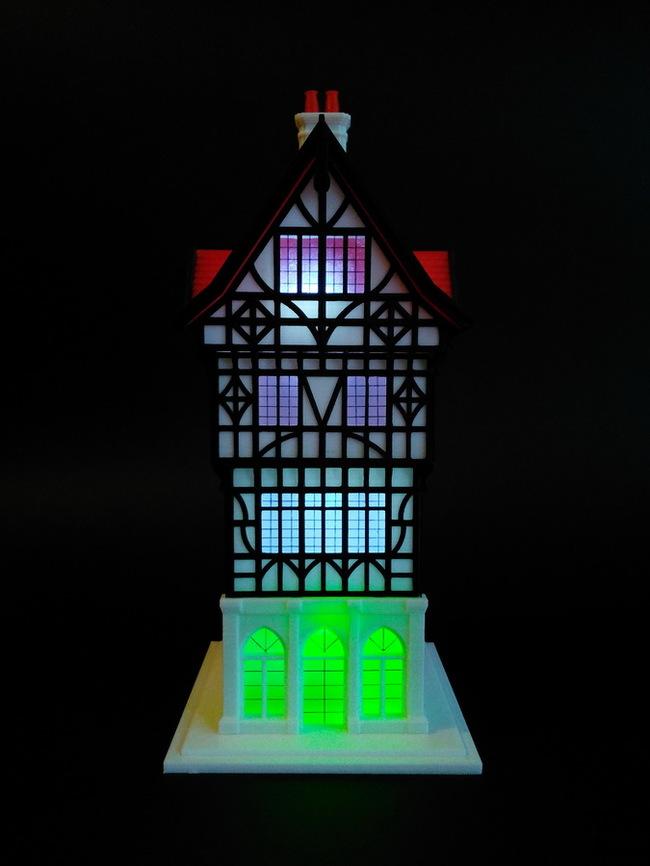 """Ночной светильник """"ЧЕСТЕР"""" Ночной светильник, 3D принтер, Своими руками, Длиннопост"""