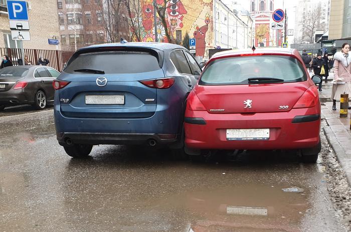 Новое слово в парковке автомобилей Парковка, Платная парковка, Москва, Обман, Длиннопост