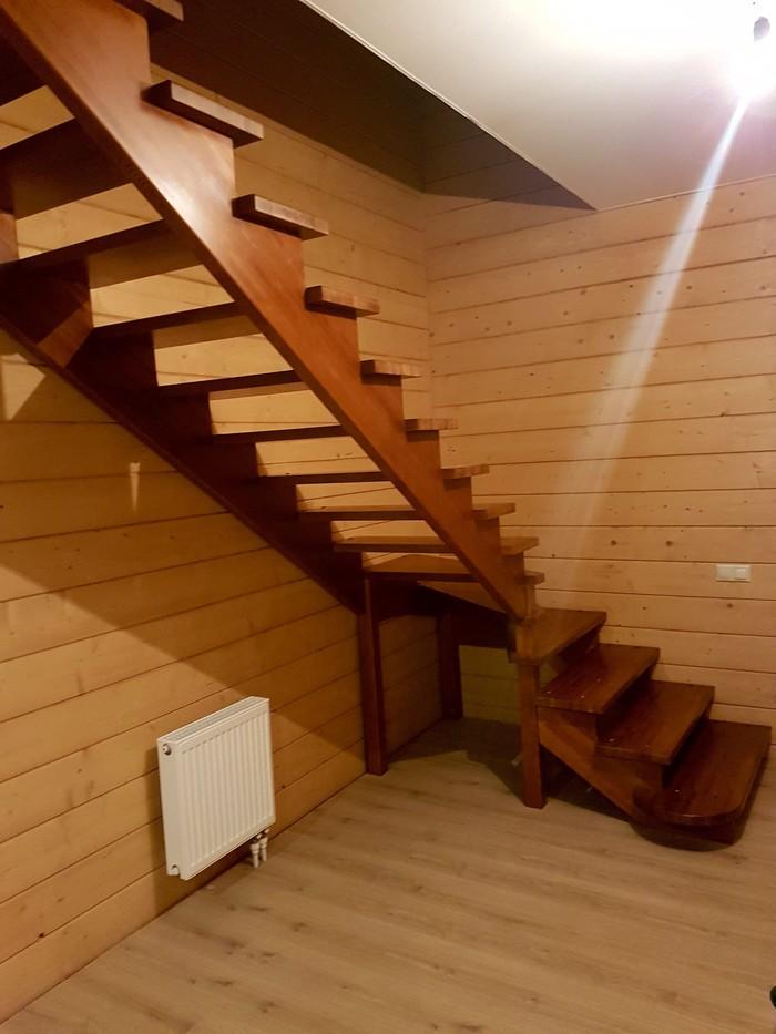 Ковка и лиственница от #lesenka040 Лестница, Ковка, Деревянный дом, Красота, Длиннопост