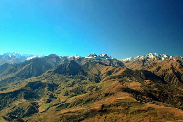 Вид с горы Лха