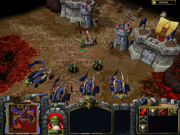 Ранние скриншоты Warcraft 3 Игры, Компьютерные игры, Warcraft 3, Warcraft, Скриншот, Длиннопост