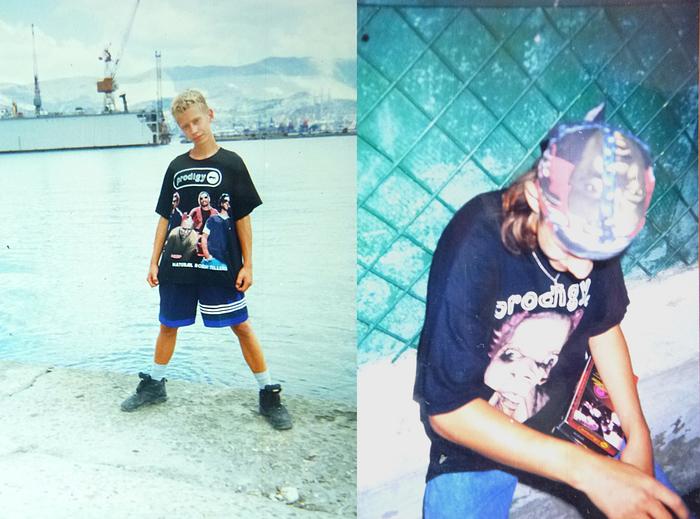 Целое поколение... Кит Флинт, The Prodigy, Назад в 90е, Старое фото