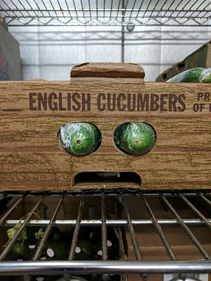 Английские огурчики просто в шоке.
