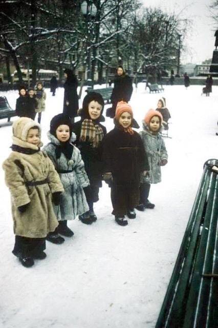 Дети в парке СССР