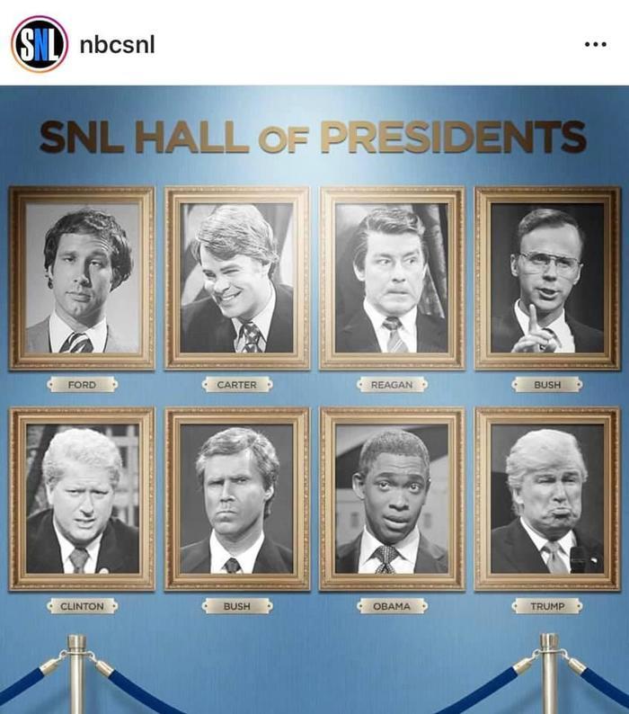 8 последних президентов США по версииSaturday Night Live Snl, США, Президент, Юмор, Шоу