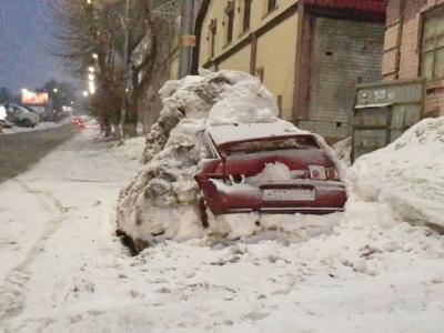 Обман с саратовским сугробом ;) Саратов, Зима, Снег, Сугроб, Происшествие