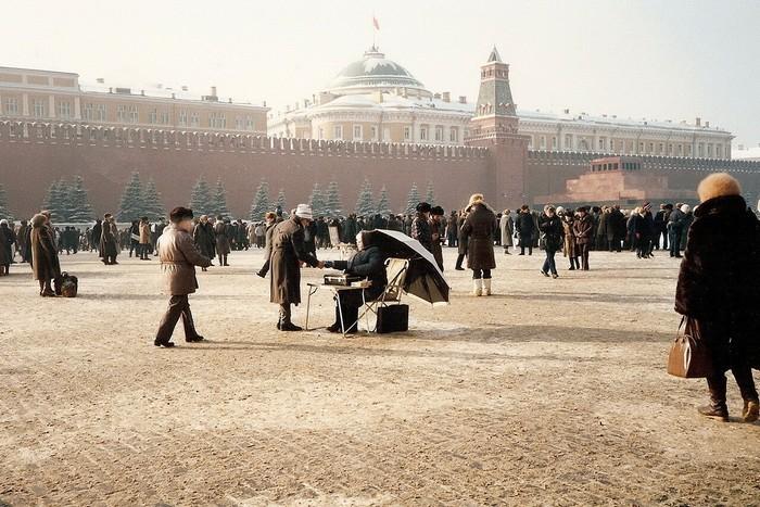 Красная площадь 1985 год