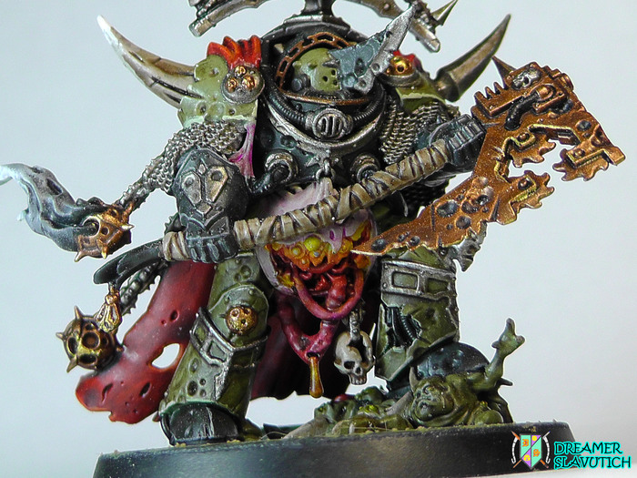 Lord of contagion - покрас лежа на диване Warhammer 40k, Warhammer, Death Guard, Wh Miniatures, Chaos Space marines, Миниатюра, Нургл, Длиннопост