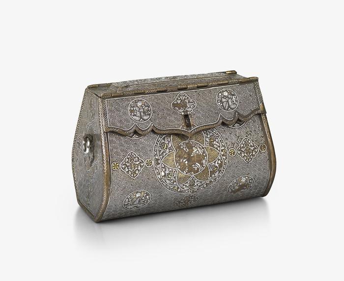 Женская сумочка модницы 14 века Классная сумочка, Ирак, Xiv век