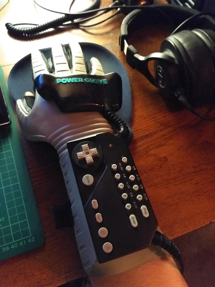 Power Glove через Pixelkit? Power Glove, Контроллер, Геймпад, Адаптер, Гифка, Длиннопост