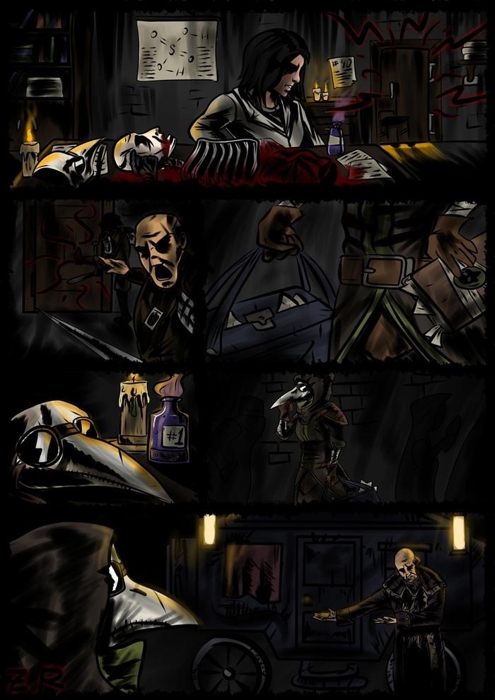 Дневник Чумного Доктора. Darkest Dungeon, Комиксы, Чумной доктор, Видеоигра