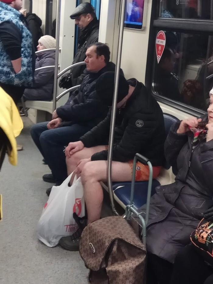 Когда праздник удался! Москва, Метро, Трусы, Длиннопост