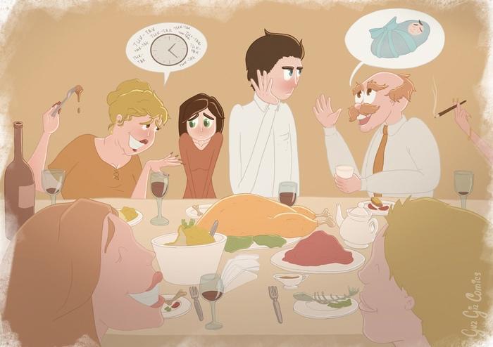 Теплого дома пост Комиксы, Guzgiz, Отношения, Любовь, Розовые сопли, Длиннопост, Рисунок