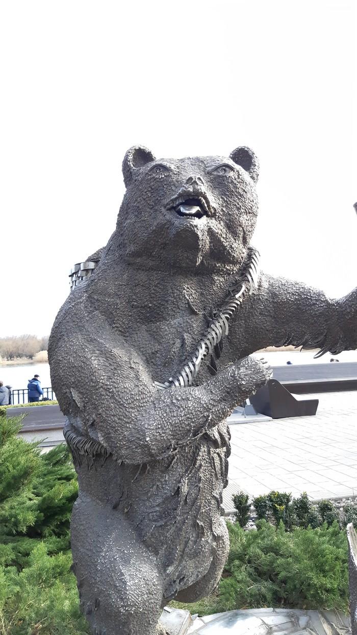Миша, где мы? Миша? Ростов-На-Дону, Наркотики, Маша и медведь, Скульптура, Наркомания, Длиннопост