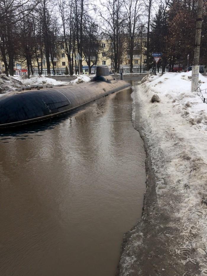 Весна в России Вконтакте, Весна, Подводная лодка, Фотошоп мастер