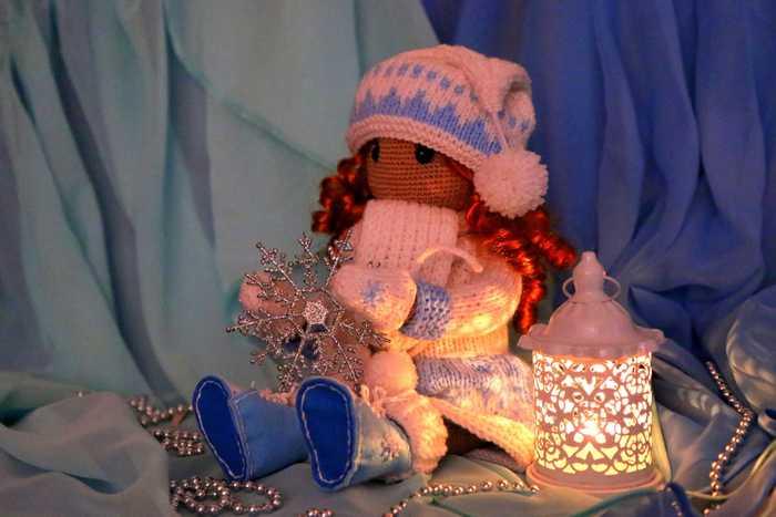Рыжая Кукла, Вязаные игрушки, Игрушки, Заказ, Длиннопост