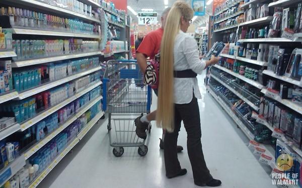 Кого только не встретишь, в американском супермаркете. США, Супермаркет, Посетители, Покупатель, Длиннопост