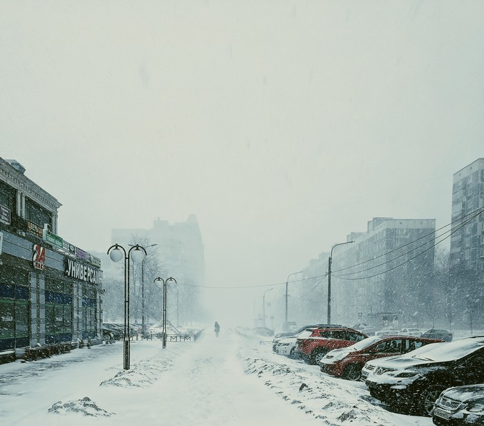 9 марта Метель, Санкт-Петербург