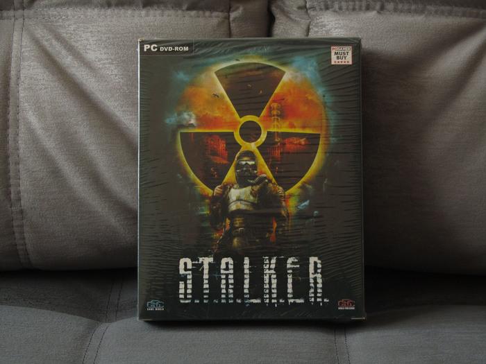 S.T.A.L.K.E.R. Тени Чернобыля Коробка, Компьютерные игры, Stalker Shadow of Chernobyl, Длиннопост